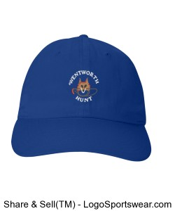 Blue Cap Design Zoom